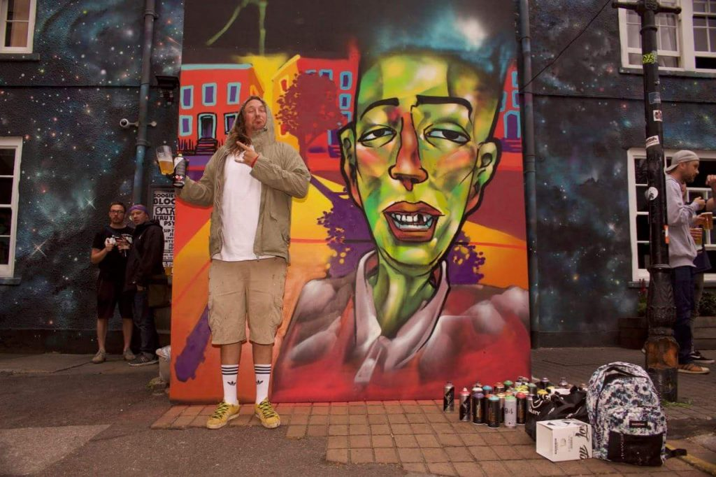 Review Street Art And Hip Hop With Inkie S Boogie Down Bristol At
