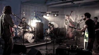 Sam Green and the Midnight Heist live at Mr Wolf's in April - Nitelife Bristol